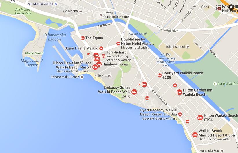 Honolulu Maps